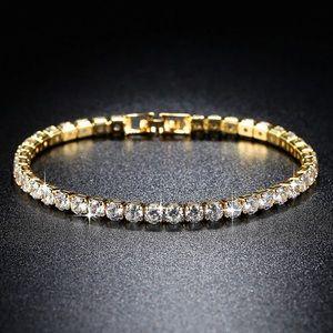 New beautiful Trendy AAA diamond Tennis Bracelet
